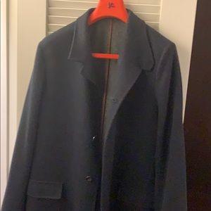 Loro Piana sweater coat